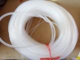 厂家直销 白色乳白色硅胶管 无味硅胶管 品质保证100米每件