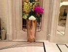 金筑达玫瑰金镜面不锈钢花盆
