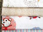 纯棉儿童卡通衣服面料家纺布料环保活性面料