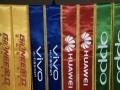 制作各种双面透旗帜,锦旗条幅绶带彩旗等各类丝网印刷