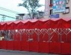 宿州市推拉蓬膜结构车蓬伸缩雨篷遮阳篷大型仓库雨篷移动厂房
