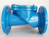 国标H44X橡胶瓣止回阀连接长度是多少