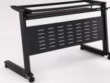 五金钢架简约折叠培训桌 多用办公桌