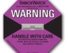 37G紫色美国进口防震动标签深圳Shockwatch