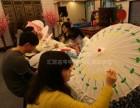 广州特色亲子互动节目油伞DIY