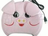 供应优质小猪暖手宝 usb暖手鼠标垫