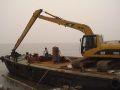 海南18-24米加长臂挖掘机租赁-聊城加长臂挖掘机租赁价格