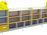 批发儿童玩具柜 收纳架 防火板幼儿玩具架置物箱 小熊造型组合柜