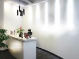 转租万达广场精装修180平带全套办公家具向阳环境好