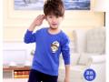 蚌埠童装批发新款5元秋季儿童长袖衫时尚热销儿童卫衣打底衫批发