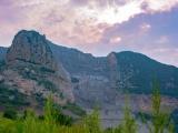 井陉石门两日行游记:盛统颐和的晴冬山景