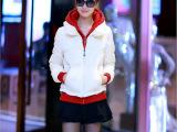 【新品上架】前20名5折拿样包邮新款冬季韩版短款羽绒棉服女