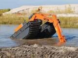 铜川湿地挖机租赁公司