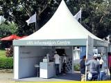 3X3欧式尖顶帐篷 展览篷房 广告活动帐篷 厂家低价促销