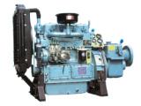 潍坊160马力脱粒机柴油机带离合器皮带轮固定动力