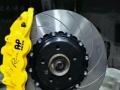 宝马4系升级原装AP8520大六活塞刹车卡钳完美制动升级