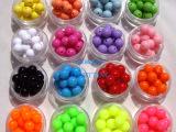 DIY饰品配件 手链材料 10MM亚克力散珠子 树脂糖果珠 儿童