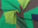 时尚羊毛提花呢面料黄绿蓝撞色组合毛呢  低价供应 厂家直销
