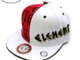 供应滑板嘻哈系列hip hop平沿帽男女棒球帽滑板帽Bboy潮人