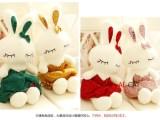 可爱芭蕾Love兔公仔大号毛绒玩具兔兔布娃娃小兔子情人生日礼物女