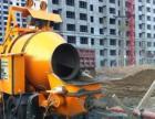 混凝土输送泵车,搅拌泵送输送一体机,打地坪细石砂浆泵,地泵租赁销