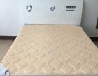 白色烤漆工艺床组装带床垫