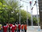 深圳共创蓝图户外拓展,高空项目体验