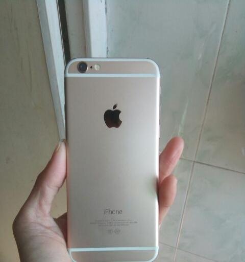 99新国行苹果6金色32G全网4G锁id当配件处理