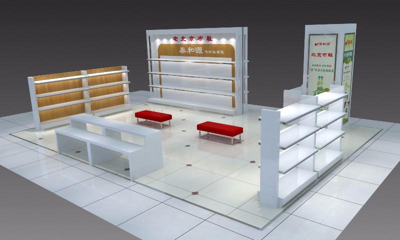 菏泽点亮装饰设计制作展柜货架定制