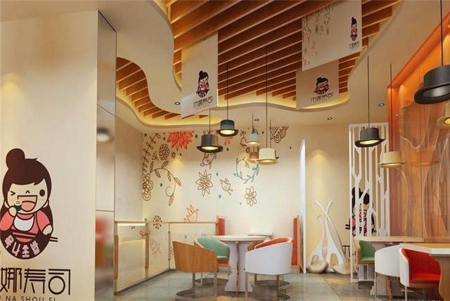 翻身餐厅装修 翻身餐馆装修 翻身餐饮装修设计施工