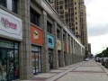 实景现铺,地铁9号线跟1号线交叉口,步行商业街交叉