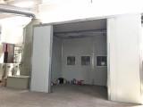 伸缩移动式喷漆房无锡博兰德自动比手动喷涂效率提高3倍