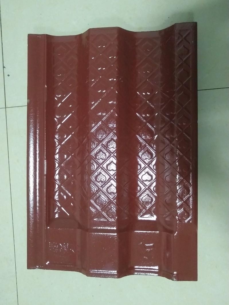 安陆陶瓷瓦生产厂家,厂直销质优价廉