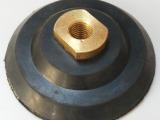 高品质4寸100mm 橡胶水磨头 水磨机橡胶接头 全铜孔加厚橡胶