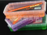 美甲收纳盒 工具盒 水晶笔光疗笔海绵挫砂条收纳盒 多色 批发