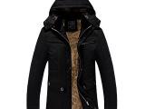 万件现货  男装新品加绒男士棉服新款男式棉衣棉袄 男冬装外套