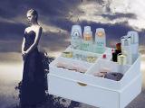 欧式化妆品首饰收纳盒 创意桌面抽屉式首饰盒 PS精品多功能整理盒