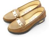 新款老北京女式 帆布单鞋休闲家居一脚蹬布鞋 多色可选五金装饰