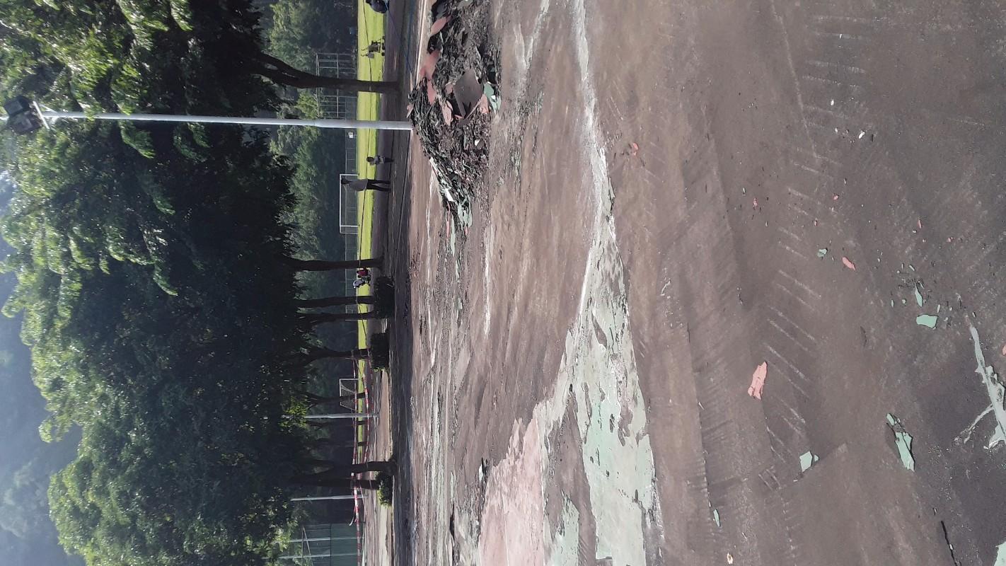 专业铲除篮球场塑胶 篮球场地坪漆 跑道硅胶