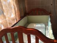 贝乐堡全实木婴儿床,九点九成新,闲置,1500入,现10
