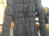外贸出口库存欧美女式棉衣200件
