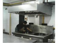 上海虹口区餐饮酒店大型油烟机清洗 首选福民保洁公司