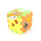智力星 10形状可塞智力箱 智力方块 认知方块儿童积木玩具 2015款