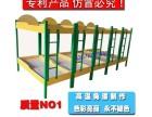 午托床学生床高低床上下铺钢木床双层 托管班两层床厂家直销