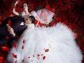 哈尔滨市米兰尊荣婚纱摄影新娘跟妆摄影录像
