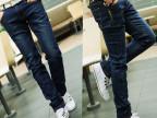 2014新款美邦牛仔裤 弹力牛仔裤 韩版 潮男修身铅笔裤爆款 薄8610