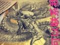 墙绘。画画。承接各种与美术相关的东西