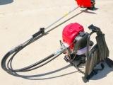 yd松土除草机 汽油动力割草机 背负式打草机