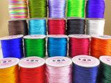 厂家直销高品质中国结手工编织绳子 多种颜色纺织线辅料批发