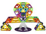 琛达正版 MAGSPACE磁力片玩具磁力建构片112片健构片 磁